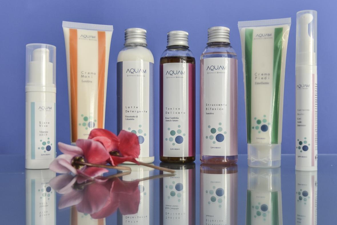 Aquam, Kosmetik mit natürlichen Wirkstoffen
