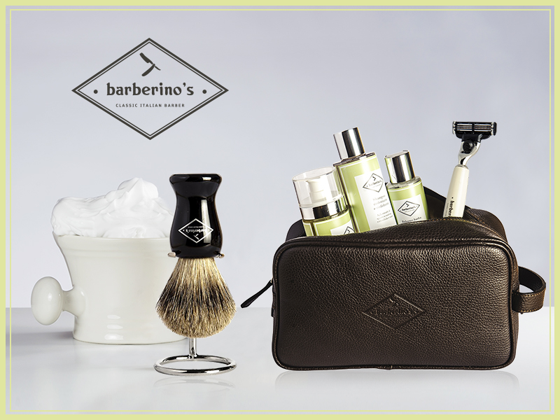 Barberino's fa rivivere l'atmosfera di una storica barberia italiana, in cui il tempo sembra essersi fermato