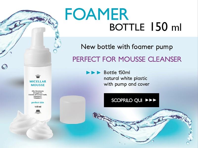 What's new? Foamer bottle!