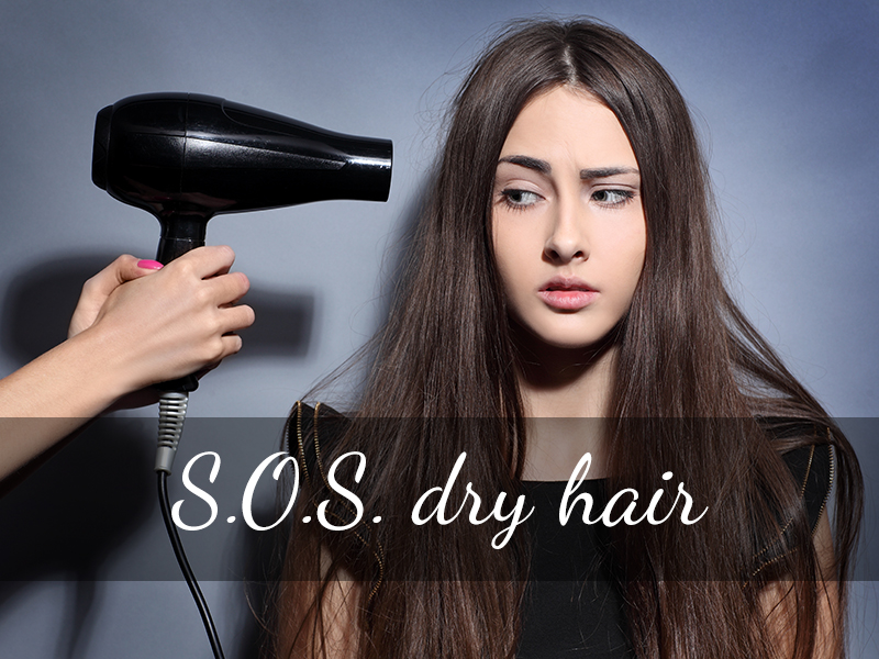 S.O.S. Dry Hair. Are you experiencing crunchy hair during spring time? Here are 4 home made recipes in plastic bottle for your hair care