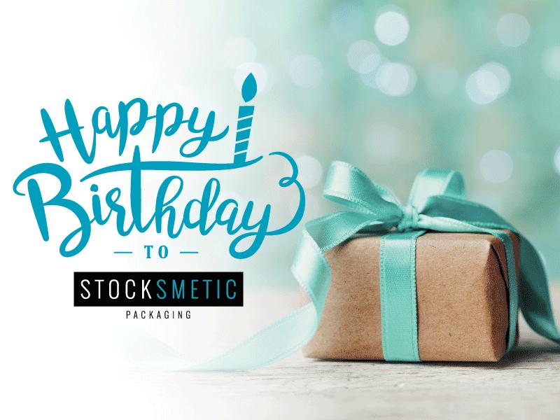 Stocksmetic Packaging, quattro anni al vostro fianco!
