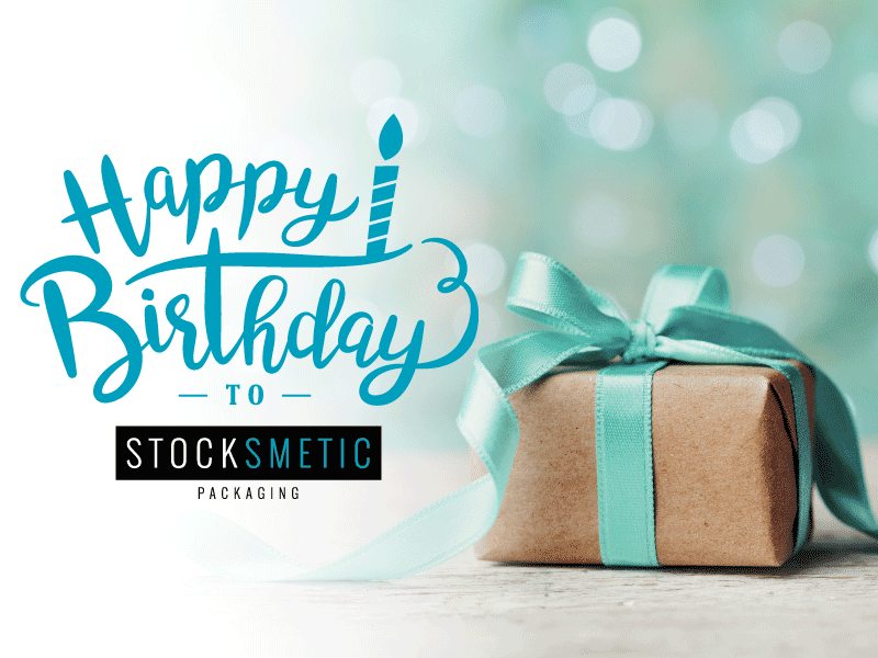 Stocksmetic Packaging, four years with you!