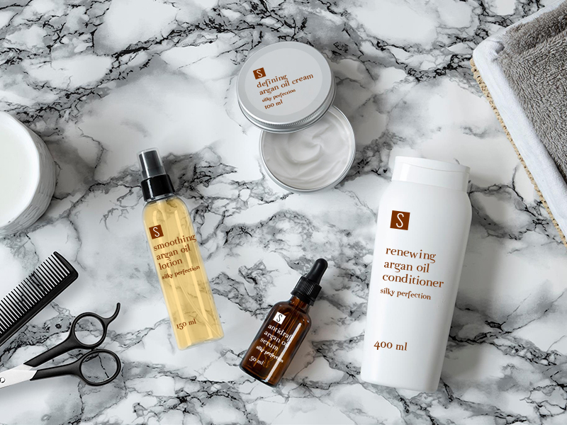 Stocksmetic packaging for your Hair Care line