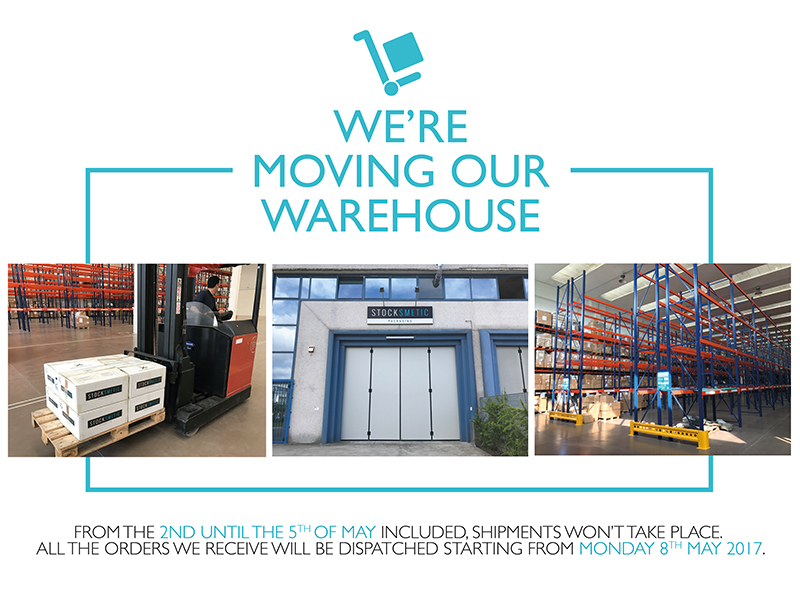 A more rapid and efficient service with the brand-new Stocksmetic Warehouse