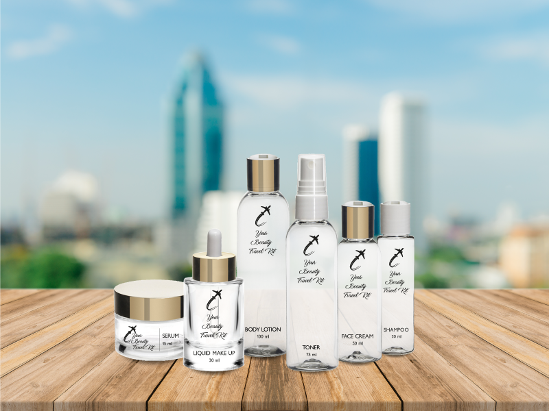Your travel packaging with Stocksmetic