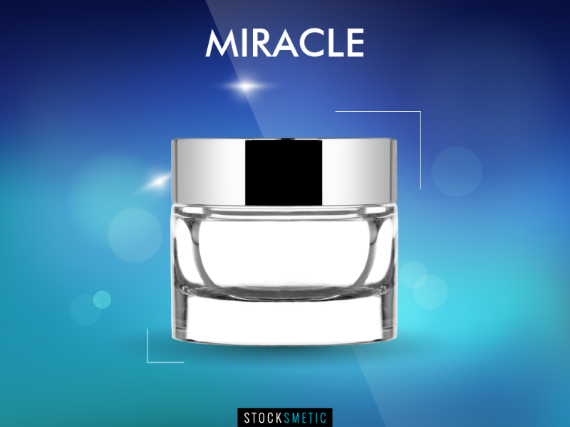 Miracle, the new Stocksmetic packaging for luxury cosmetics