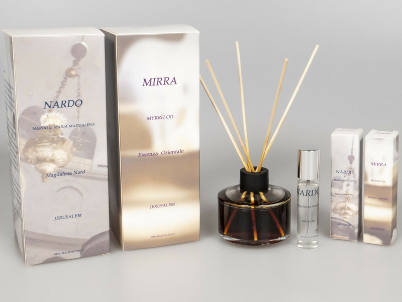 Marco Sanna Essences: the suggestive fragrances of the Holy Land