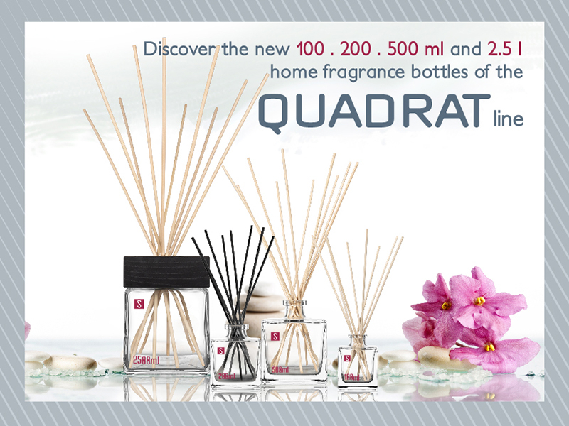 Home fragrance between elegance and design: the Quadrat collection is born