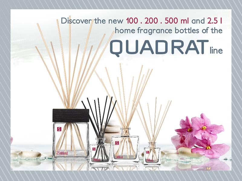 Diffuseurs d'ambiance entre élégance et design: la collection Quadrat est née