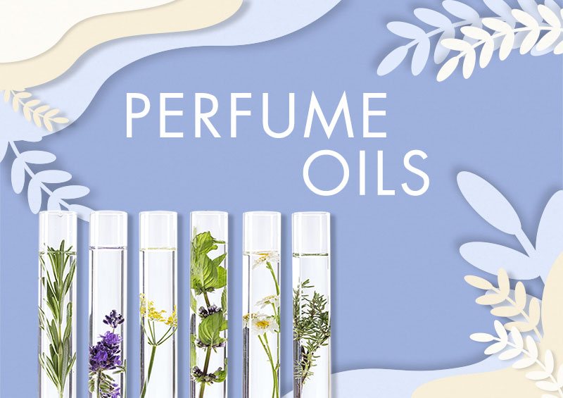 The Perfume Oils section to create your beauty products line