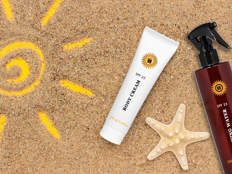 Sunscreen products: the right protection from the sun