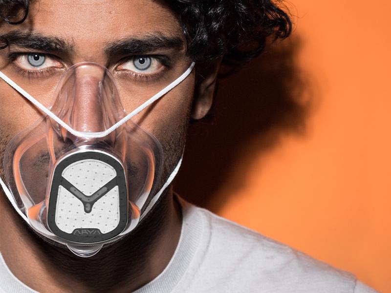 Le nuove mascherine ARYA per una maggiore sicurezza e sostenibilità