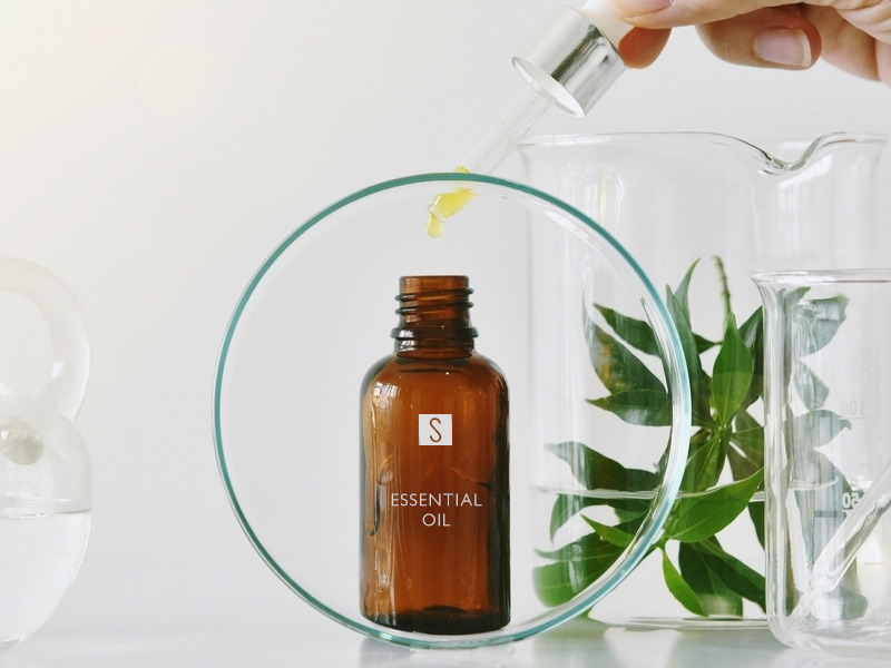 Live the spa experience in your own home with bottles for essential oils