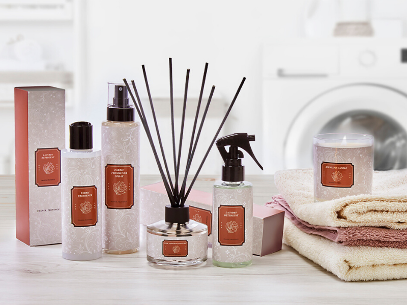 Home care products for a welcoming and scented home