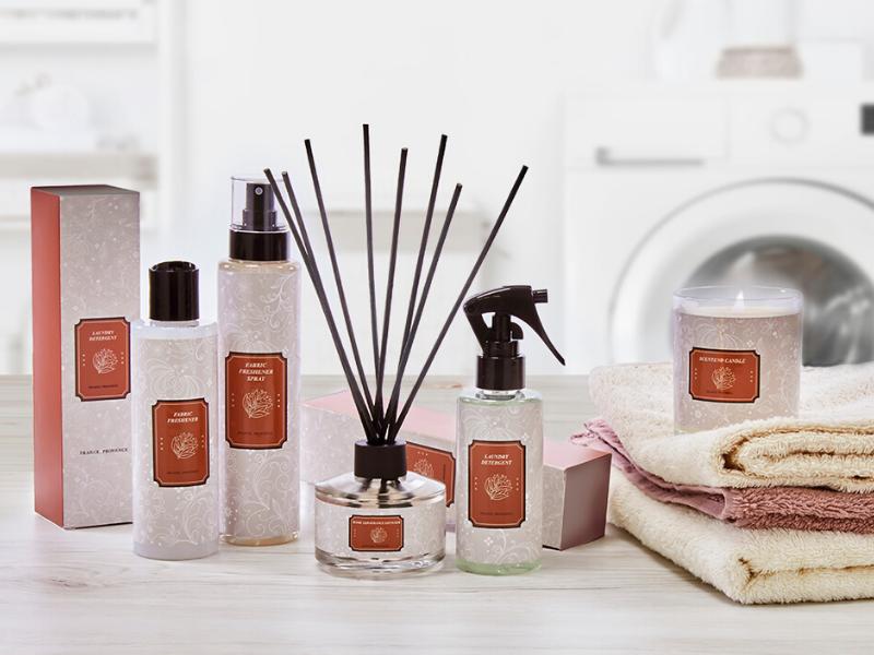 Productos para el cuidado del hogar para un ambiente acogedor y perfumado