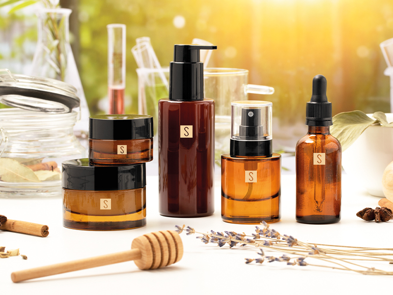 Herbal products between wellbeing and beauty