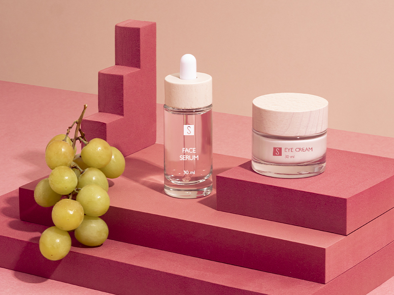 The grape pomace in cosmetics: the new beauty elixir that makes the skin youthful
