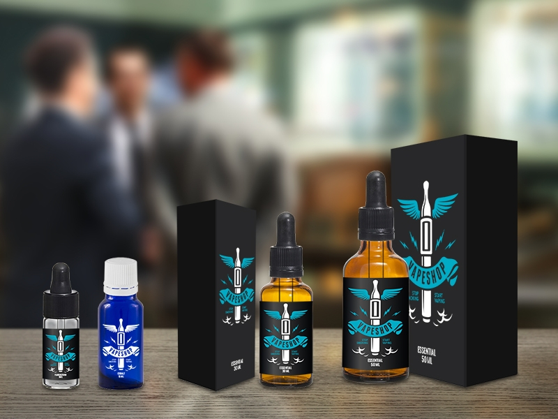 ELECTRONIC CIGARETTES: LIQUIDS AND AROMAS IN EASY-TO-USE CONTAINERS
