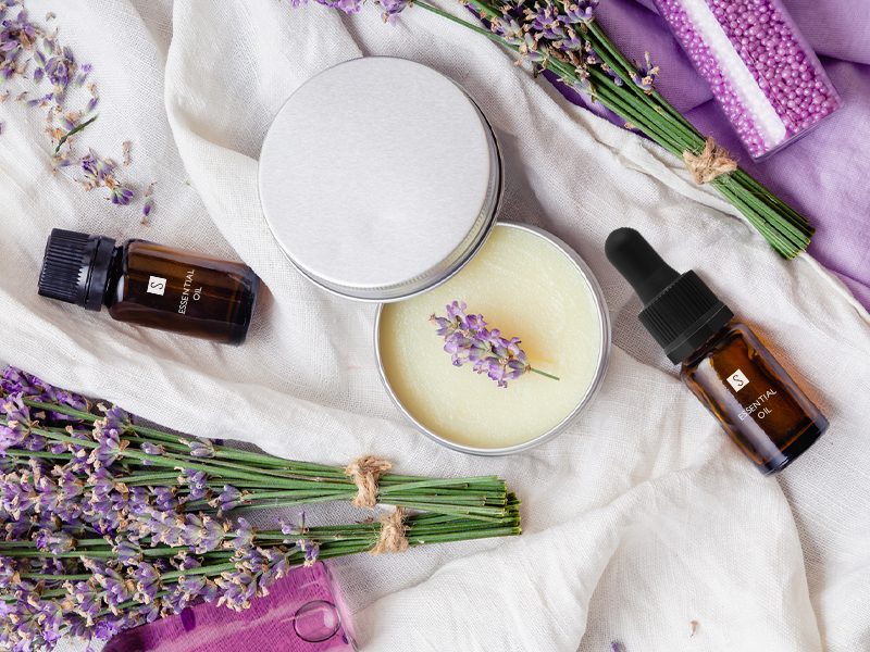 Lavender: natural cosmetic gold
