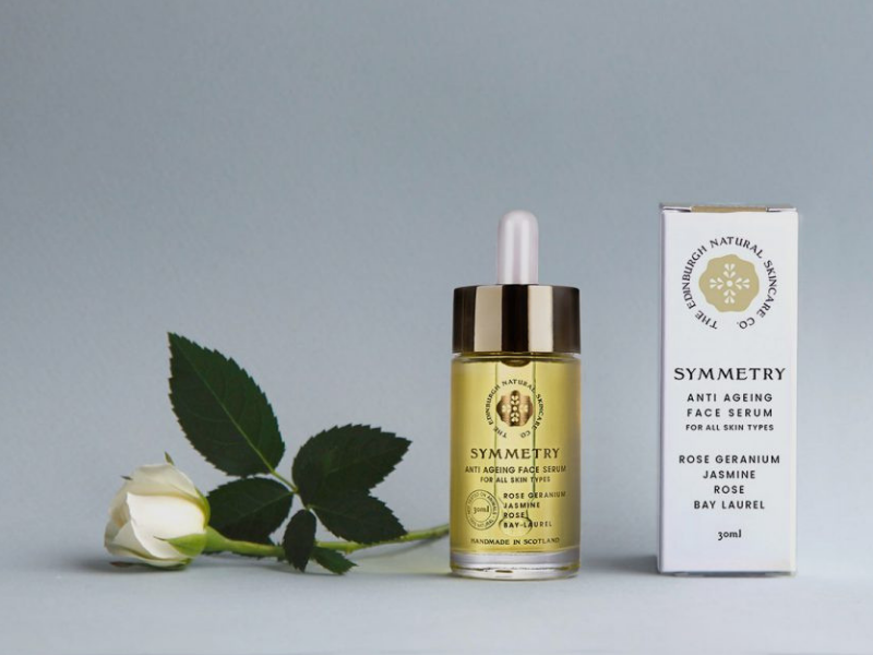 The Edinburgh Natural Skincare Company: the natural essence of cosmetic products