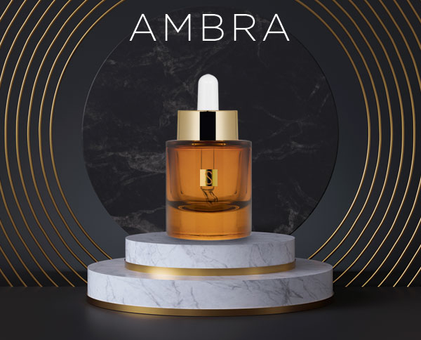 Cosmetic line amber