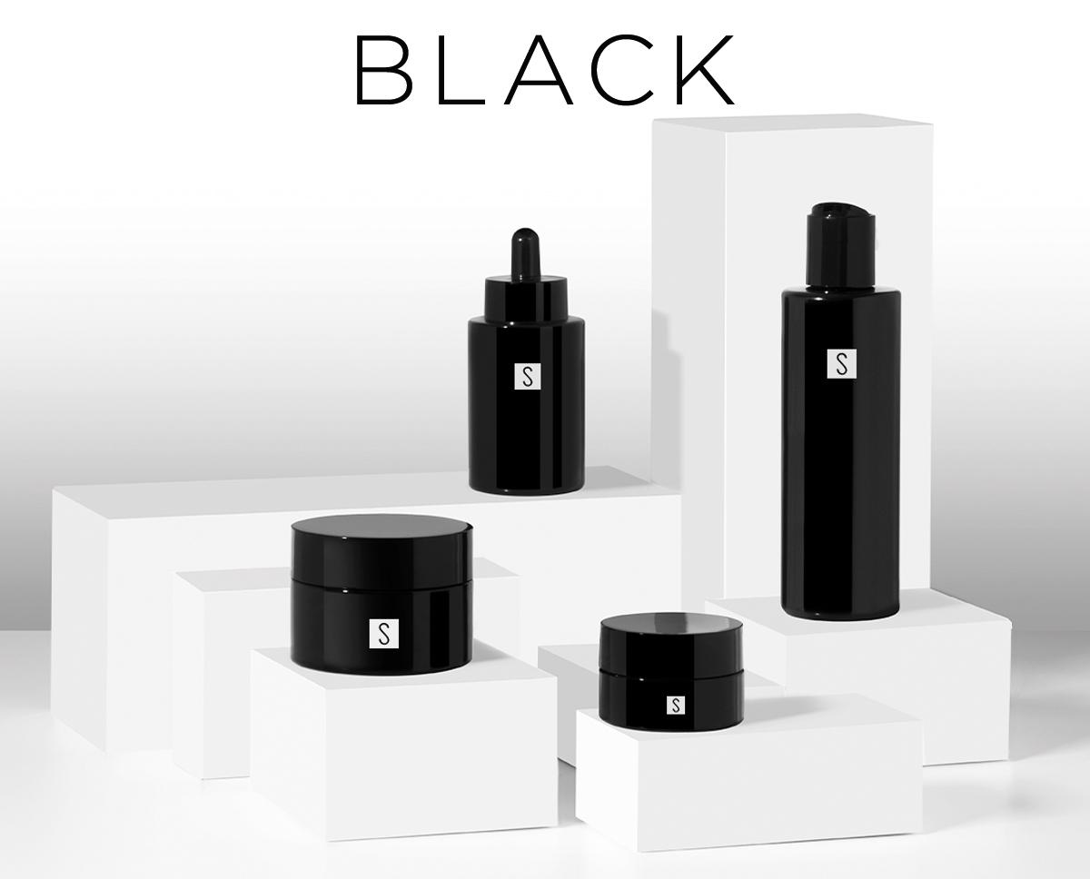 Cosmetic line black