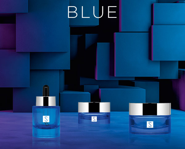 Cosmetic line Blue