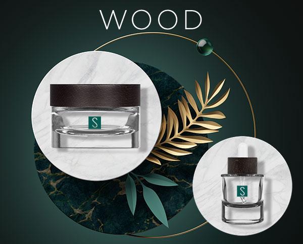 linea cosmetica Wood