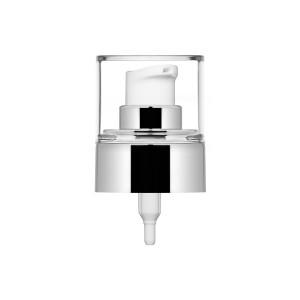 Pompa Crema Ice argento lucido metallizzato + cover 24/410