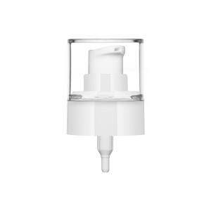 Pompa Crema Ice bianca lucida + cover 24/410