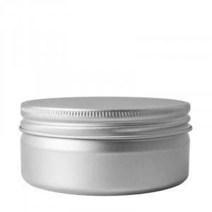 Vaso alluminio 200 ml con coperchio