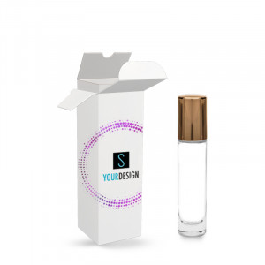Astuccio per Roller Vip bottle 5ml clear glass