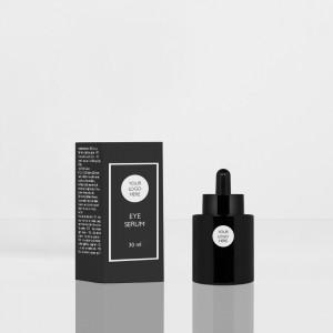 Heavy Bottle 30ML 20/400  black opaque