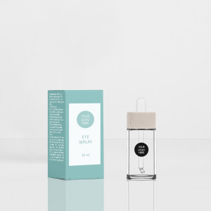 Pure glass Bottle 30ML 20/400 clear