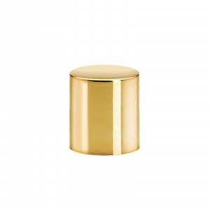 Cilindrical Cap glossy gold