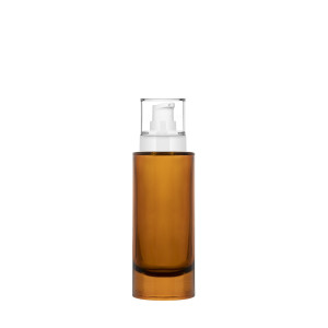 100 ml semi-transparent amber Heavy Bottle