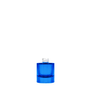Heavy Bottle 30ML 20/400  blue semi-transparent