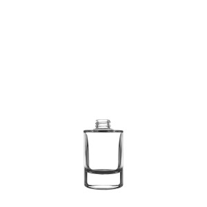 Heavy glass Bottle 50ML 20/400  clear