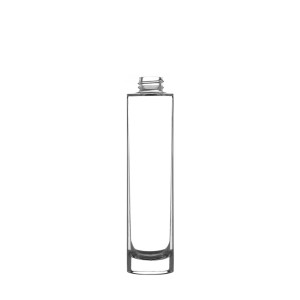 Luxe glass Bottle 100ML 24/410 clear glass