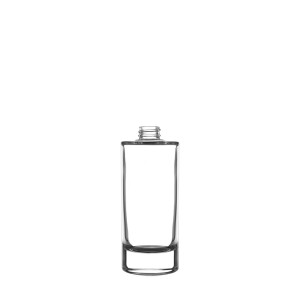 Heavy  glass Bottle 100ML 20/400  clear