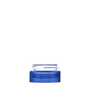 Luxe Jar 15 ml Blue Semi-Transparent
