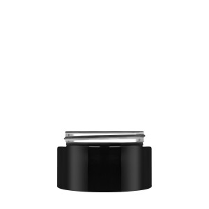 Luxe Jar 50ML 60/400 black opaque