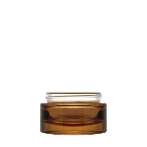 Luxe Jar 50 ml 60/400 Amber semi-transparent