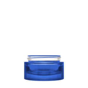 Luxe Jar 50 ml 60/400 Blue Semi-Transparent