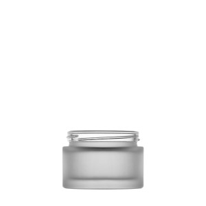 Pure glass Jar 50Ml 53/400 frosted