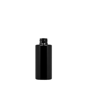 150 ml New Pure Bottle 24/410 green r-PET opaque black