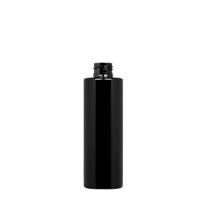 200 ml New Pure Bottle 24/410 green r-PET opaque black