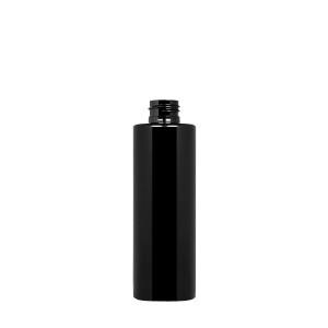 200 ml New Pure Bottle 24/410 green r-PET opaque black