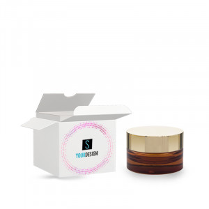 Box for Vaso Luxe 15ML blu semitrasparente