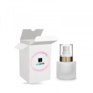 Box for Heavy bottle 15ml/0.51oz  20/400 frosted glass